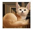 Fennec Fox ##STADE## - coat 16021